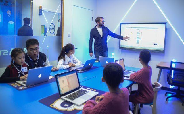 奇咔咔儿童编程课堂展示