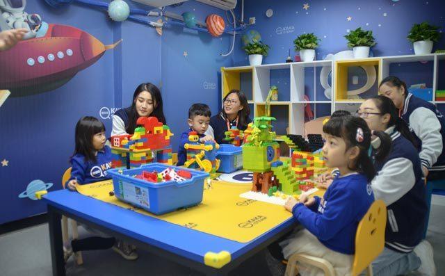奇咔咔游戏式教学课堂