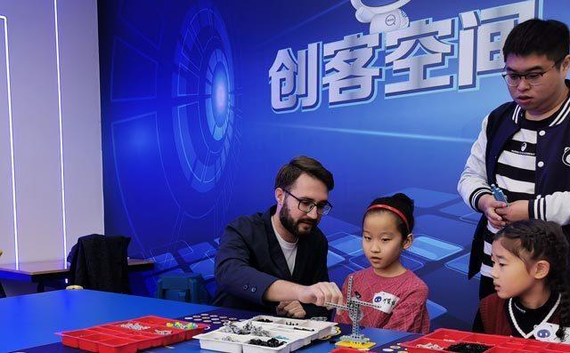 奇咔咔乐高机器人教育