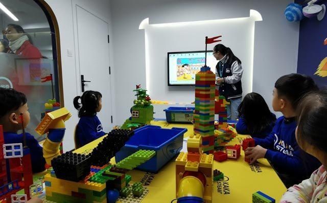 奇咔咔少儿乐高机器人教育培养孩子创造力